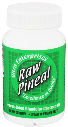 DROPPED: Ultra Enterprises - Raw Pineal 10 mg. - 30 Tablet(s)