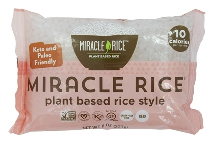 Miracle Noodle - Miracle Shirataki Rice - 8 oz.