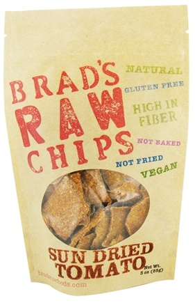 DROPPED: Brad's Raw Foods - Vegan Chips Sun Dried Tomato - 3 oz.