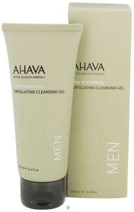 DROPPED: AHAVA - Men's Exfoliating Cleansing Gel - 3.4 oz. CLEARANCE PRICED