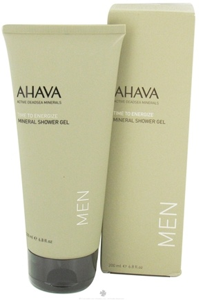 DROPPED: AHAVA - Men's Mineral Shower Gel - 6.8 oz. CLEARANCE PRICED