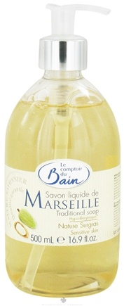 DROPPED: Le Comptoir du Bain - Traditional French Liquid Soap Extra Rich & Natural - 16.9 oz. CLEARANCE PRICED