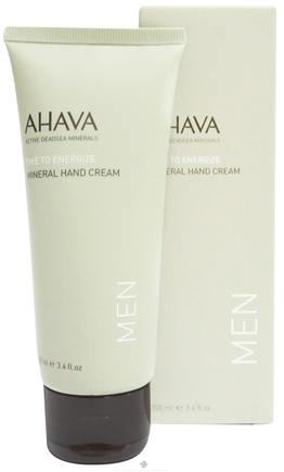 DROPPED: AHAVA - Men's Mineral Hand Cream - 3.4 oz. CLEARANCE PRICED