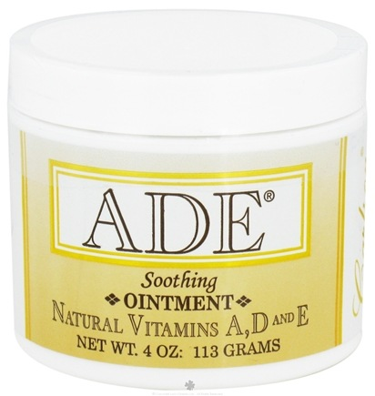 DROPPED: Carlson Labs - ADE Soothing Ointment - 4 oz.