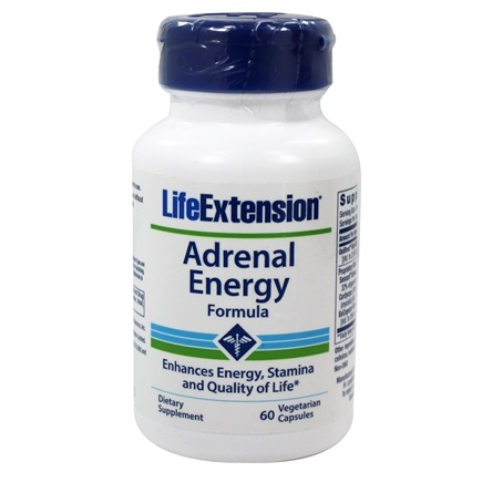 Life Extension - Adrenal Energy Formula - 60 Vegetarian Capsules