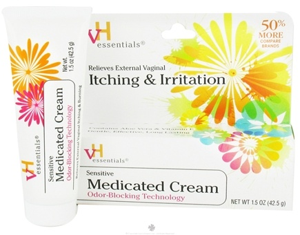 DROPPED: VH Essentials - Advanced Sensitive Medicated Vaginal Itching and Irritaion Cream - 1.5 oz.