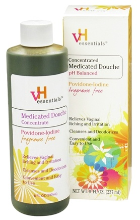 DROPPED: VH Essentials - Medicated Douche Concentrate Fragrance Free - 8 oz.