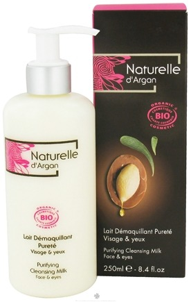 DROPPED: Naturelle d'Argan - Purifying Cleansing Milk For Face And Eyes - 8.4 oz.