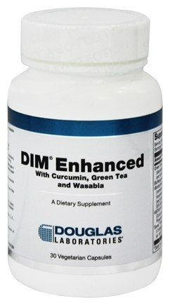 DROPPED: Douglas Laboratories - DIM Enhanced with Curcumin, Green Tea and Wasabia - 30 Vegetarian Capsules