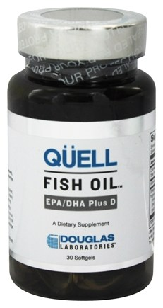 DROPPED: Douglas Laboratories - Quell Fish Oil EPA/DHA Plus D - 30 Softgels