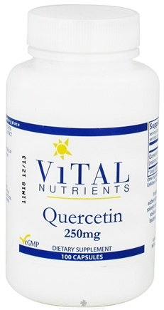 DROPPED: Vital Nutrients - Quercetin 250 mg. - 100 Capsules