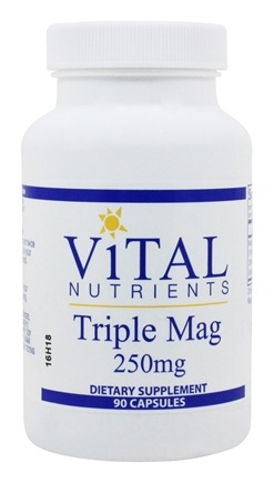 Vital Nutrients - Triple Mag 250 mg. - 90 Capsules