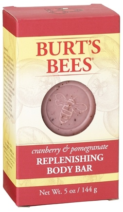 DROPPED: Burt's Bees - Body Bar Replenishing Cranberry & Pomegranate - 5 oz.