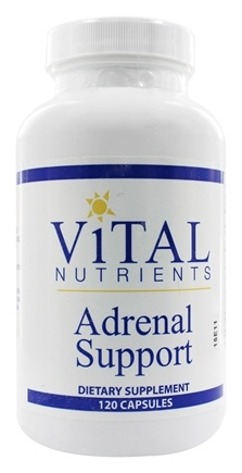 Vital Nutrients - Adrenal Support - 120 Capsules