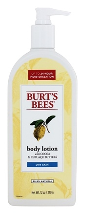 Burt's Bees - Body Lotion Cocoa & Cupuacu Butters - 12 oz.