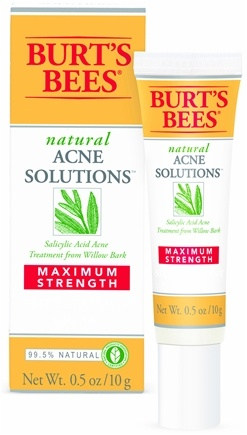 DROPPED: Burt's Bees - Natural Acne Solutions Maximum Strength Spot Treatment Cream - 0.05 oz.