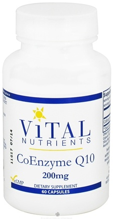 DROPPED: Vital Nutrients - CoEnzyme Q10 200 mg. - 60 Capsules CLEARANCE PRICED