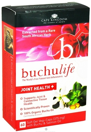 DROPPED: Buchu Life - Joint Health 375 mg. - 60 Vegetarian Capsules CLEARANCE PRICED