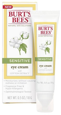 Burt's Bees - Natural Acne Solutions Sensitive Eye Cream - 0.5 oz.