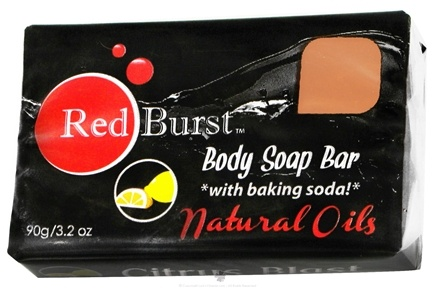 DROPPED: Red Burst - Body Soap Bar Citrus Blast - 3.2 oz. CLEARANCE PRICED