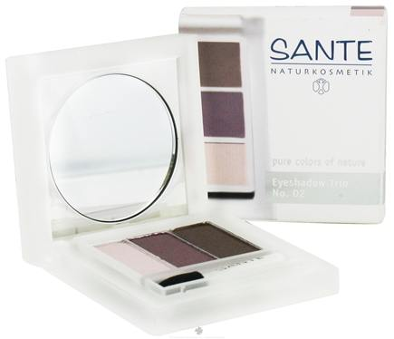 DROPPED: Sante - Eyeshadow Trio 02 Aubergine - 4.5 Grams