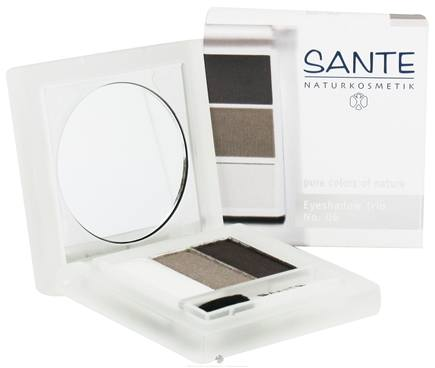 DROPPED: Sante - Eyeshadow Trio 06 Smokey Eyes - 4.5 Grams CLEARANCE PRICED