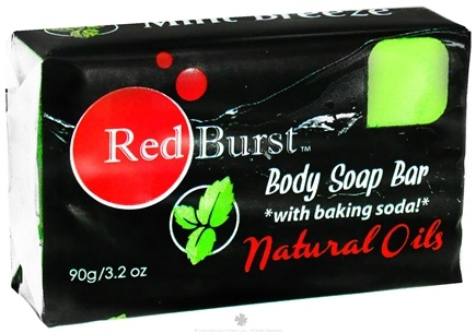 DROPPED: Red Burst - Body Soap Bar Mint Breeze - 3.2 oz. CLEARANCE PRICED
