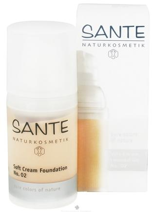 DROPPED: Sante - Soft Cream Foundation 02 Light Beige - 30 ml. CLEARANCE PRICED
