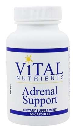 Vital Nutrients - Adrenal Support - 60 Capsules