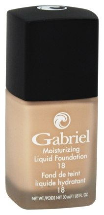 Gabriel Cosmetics Inc. - Moisturizing Liquid Foundation Soft Beige 18 SPF - 1 oz.