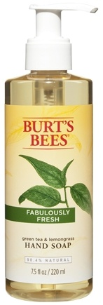 Burt's Bees - Hand Soap Green Tea & Lemongrass - 7.5 oz.