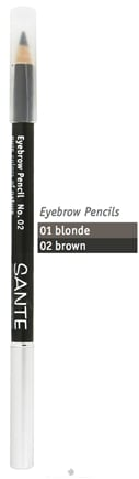DROPPED: Sante - Eyebrow Pencil 02 Brown - 1.4 Grams CLEARANCE PRICED