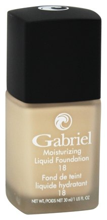 Gabriel Cosmetics Inc. - Moisturizing Liquid Foundation Pale Ivory 18 SPF - 1 oz.