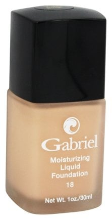 Gabriel Cosmetics Inc. - Moisturizing Liquid Foundation True Beige 18 SPF - 1 oz.