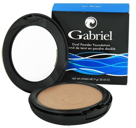 DROPPED: Gabriel Cosmetics Inc. - Dual Powder Foundation Tan Beige - 0.32 oz. CLEARANCE PRICED