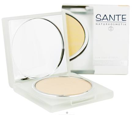 DROPPED: Sante - Pressed Compact Powder 01 Porcelain - 9 Grams CLEARANCE PRICED