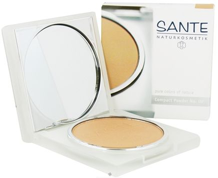 DROPPED: Sante - Pressed Compact Powder 02 Light Sand - 9 Grams CLEARANCE PRICED
