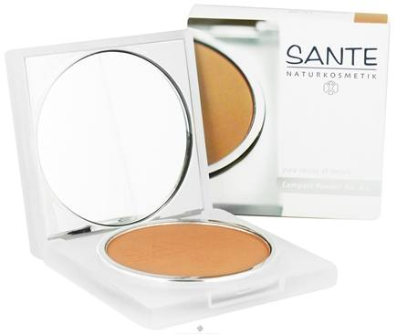 DROPPED: Sante - Pressed Compact Powder 03 Golden Beige - 9 Grams CLEARANCE PRICED