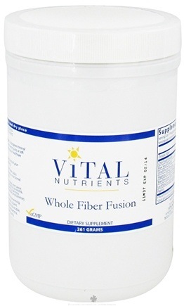DROPPED: Vital Nutrients - Whole Fiber Fusion - 261 Grams CLEARANCE PRICED