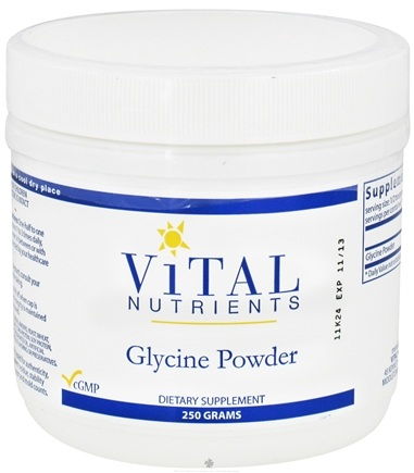 DROPPED: Vital Nutrients - Glycine Powder - 250 Grams