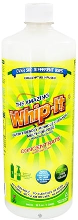 DROPPED: The Amazing Whip-It - Earth Friendly Miracle Cleaner Multi-Purpose Concentrate - 32 oz.