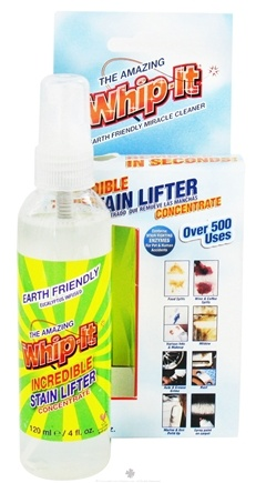 DROPPED: The Amazing Whip-It - Earth Friendly Incredible Stain Lifter Concentrate - 4 oz.