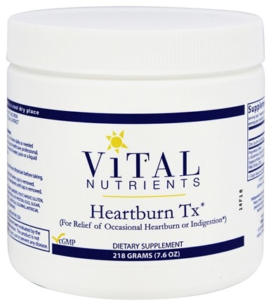 DROPPED: Vital Nutrients - Heartburn Tx - 218 Grams
