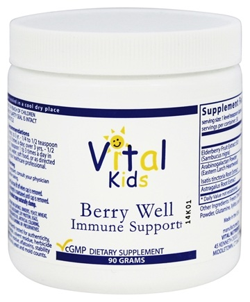 Vital Nutrients - Berry Well Immune Support - 90 Grams
