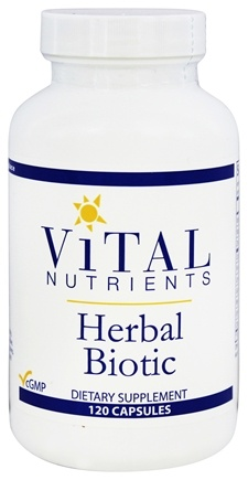 Vital Nutrients - Herbal Biotic - 120 Capsules