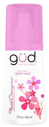 DROPPED: GUD From Burt's Bees - Body Mist Natural Floral Cherrynova - 3 oz.