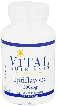 DROPPED: Vital Nutrients - Ipriflavone 300 mg. - 90 Capsules CLEARANCE PRICED