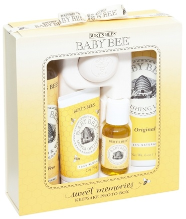 DROPPED: Burt's Bees - Baby Bee Sweet Memories Gift With Keepsake Photo Box