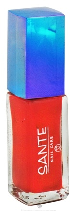 DROPPED: Sante - Nail Polish 16 Warm Red - 7 ml. CLEARANCE PRICED
