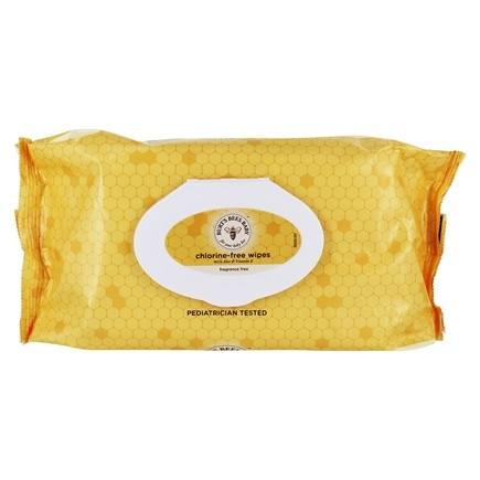 Burt's Bees - Baby Bee Chlorine-Free Wipes Fragrance-Free - 72 Wipe(s)